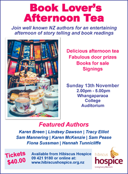 Book Lover's Afternoon Tea